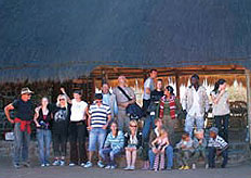 The Abenteuer Afrika Safari team at Abadi